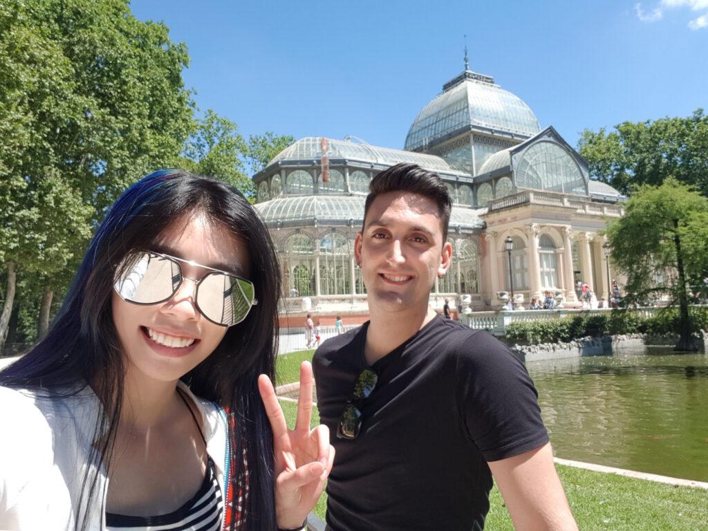 水晶宮 Palacio de Cristal 西班牙旅遊 馬德里 景點 zoeylinslife