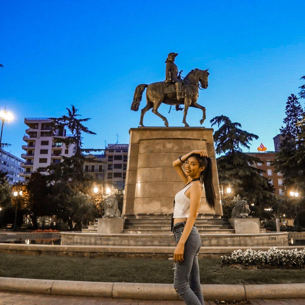 Monument to General Espartero 將軍紀念碑