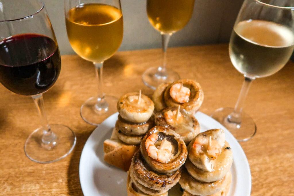 美食推薦 蘑菇蝦 西班牙美食 洛格羅尼奧 zoeylinslife