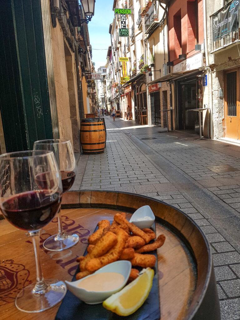 西班牙美食 一條街