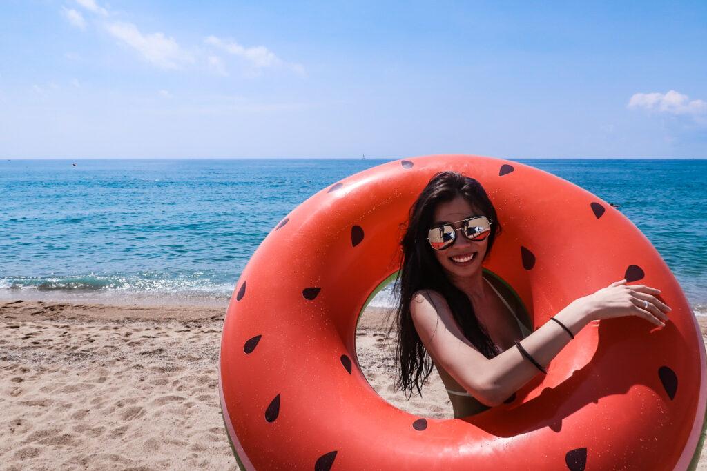 西班牙旅遊 巴塞隆納海邊