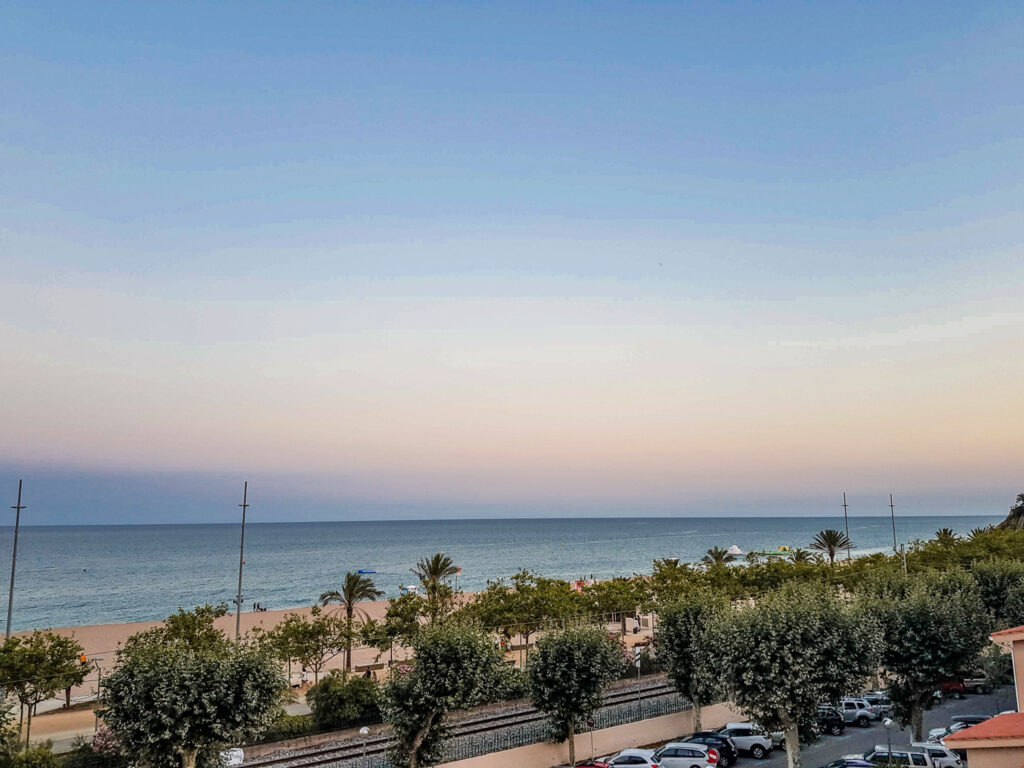 西班牙旅遊 巴塞隆納 卡萊利亞 巴塞隆納海邊