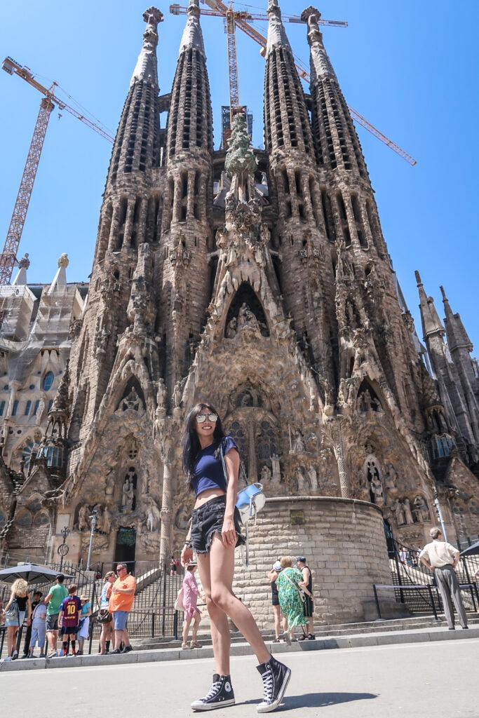 聖家堂 Sagrada Familia  Barcelona  巴塞隆納景點 Barcelona 一日散步路線| 跟男友去西班牙!