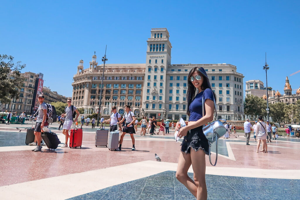 加泰隆尼亞廣場 巴塞隆納 西班牙