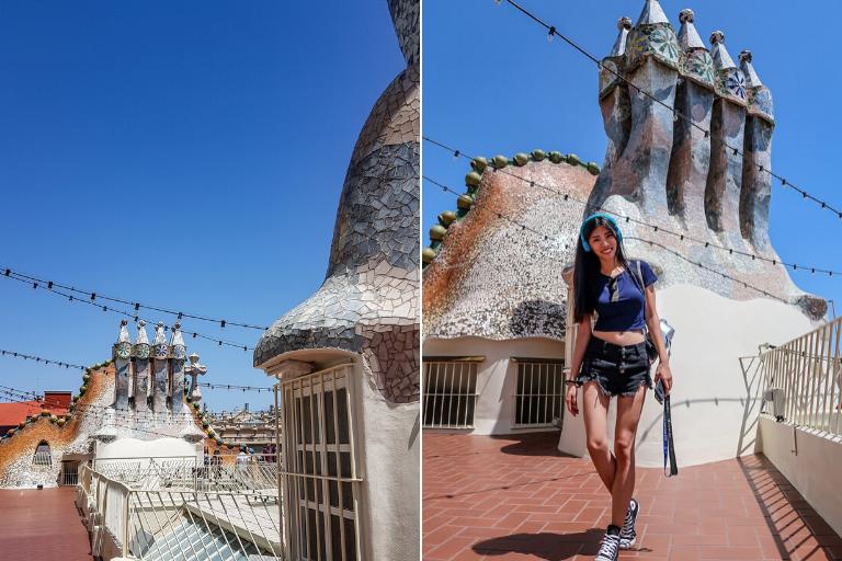 造型煙囪 巴特婁之家 Casa Batlló