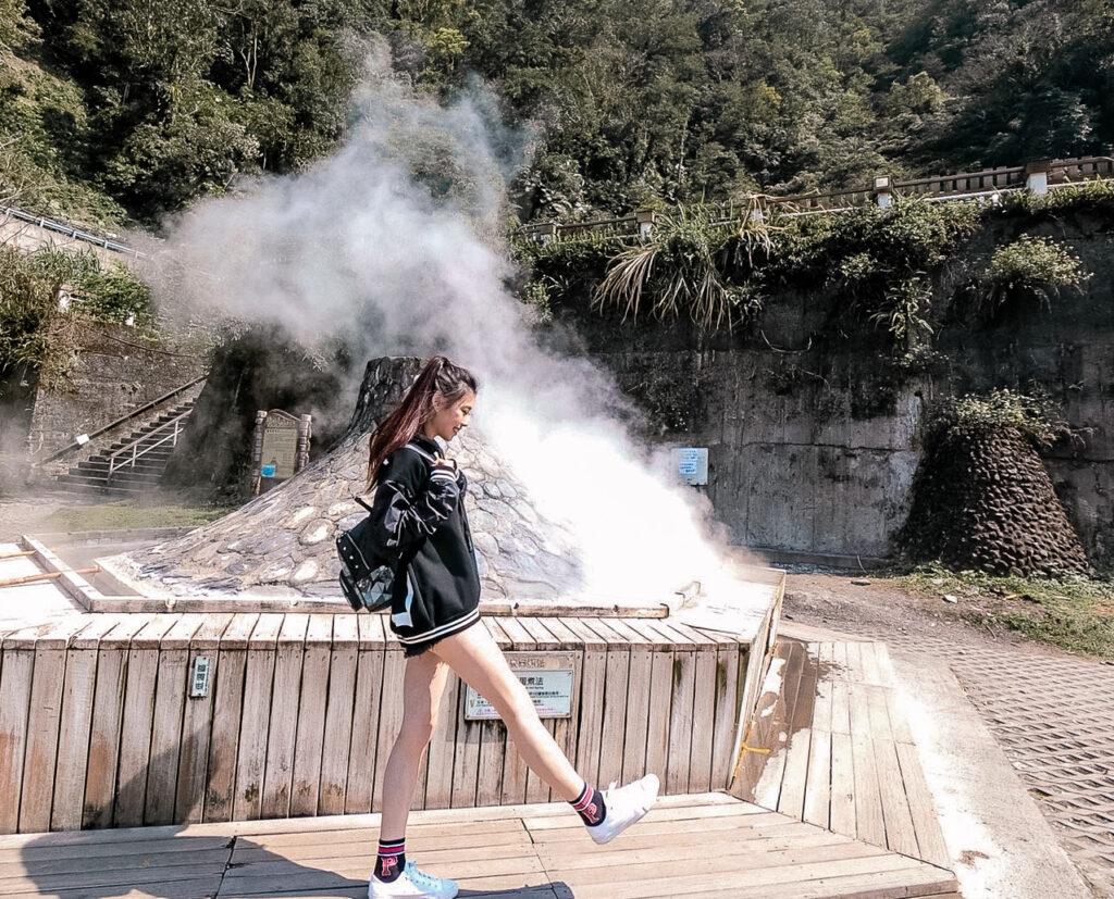 鳩之澤溫泉 煮蛋區 宜蘭 太平山