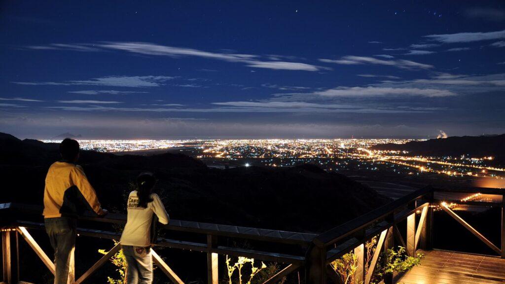 太平山櫻悅民宿 宜蘭夜景