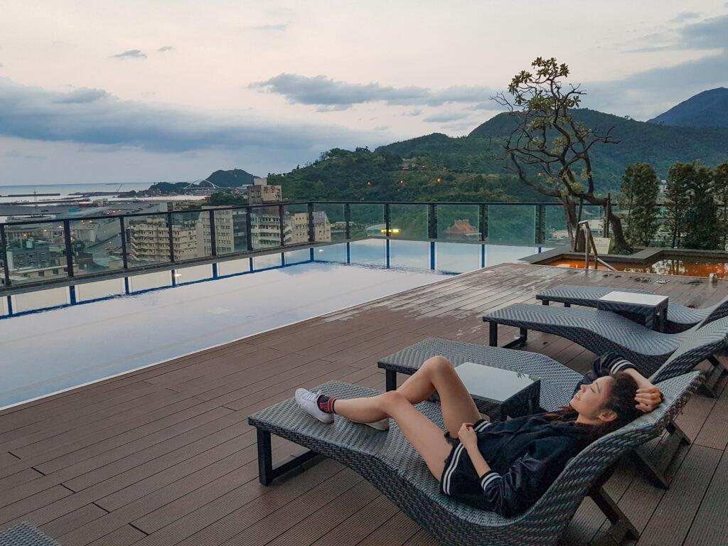 煙波大飯店蘇澳 宜蘭 住宿推薦 無邊際泳池