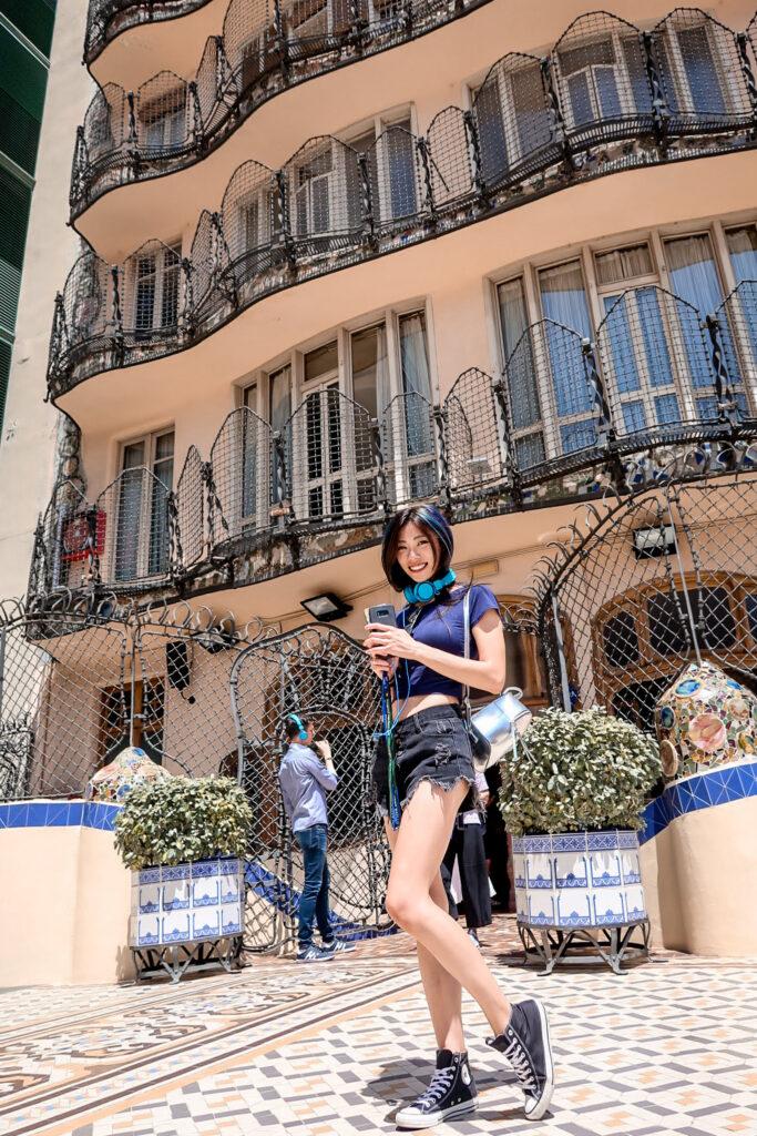 花園庭院 巴特婁之家Casa Batlló