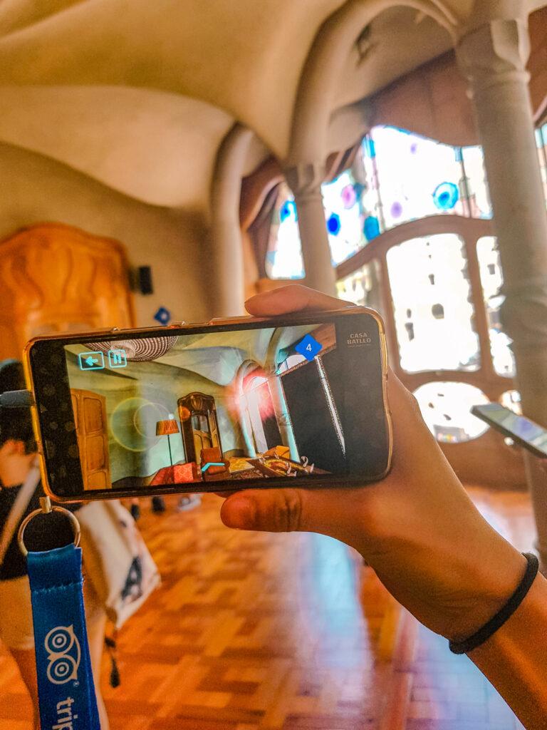 AR實境語音導覽 巴特婁之家Casa Batlló