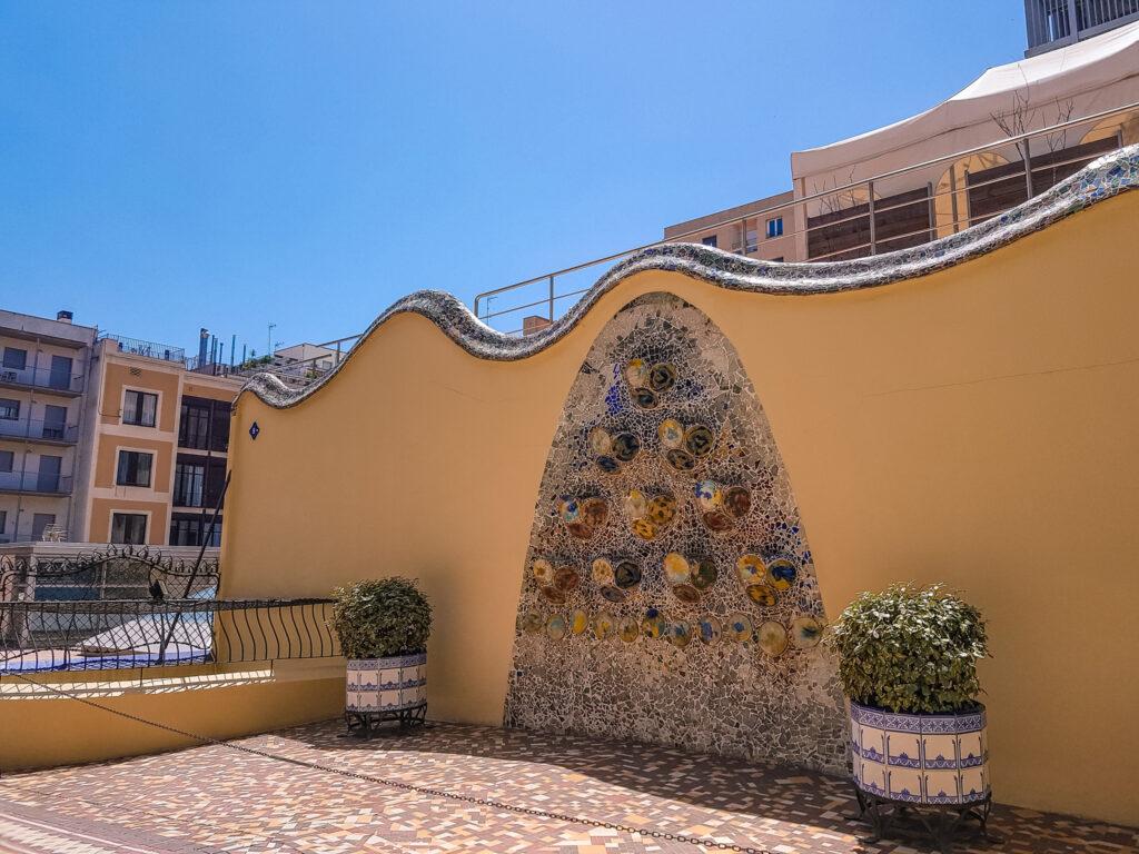 二樓花園庭院 巴特婁之家Casa Batlló