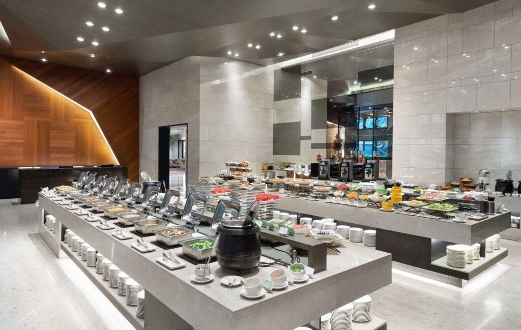 煙波大飯店蘇澳 宜蘭 蘇澳 住宿 飯店  早餐用餐環境