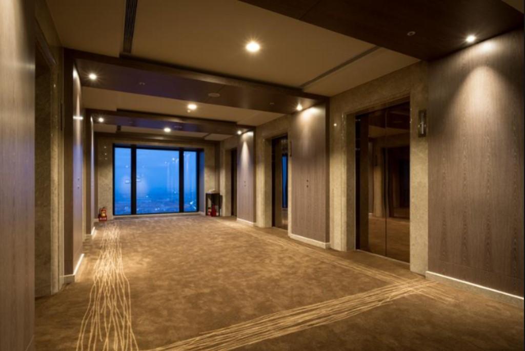 村却國際溫泉酒店 電梯處