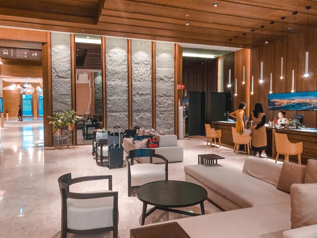 村却國際溫泉酒店 大廳