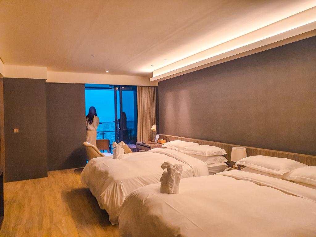 村却國際溫泉酒店 家庭四人房型