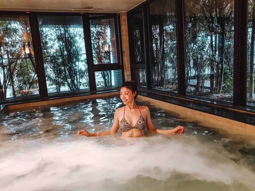 村却溫泉酒店 大眾泳池湯 奈米牛奶池