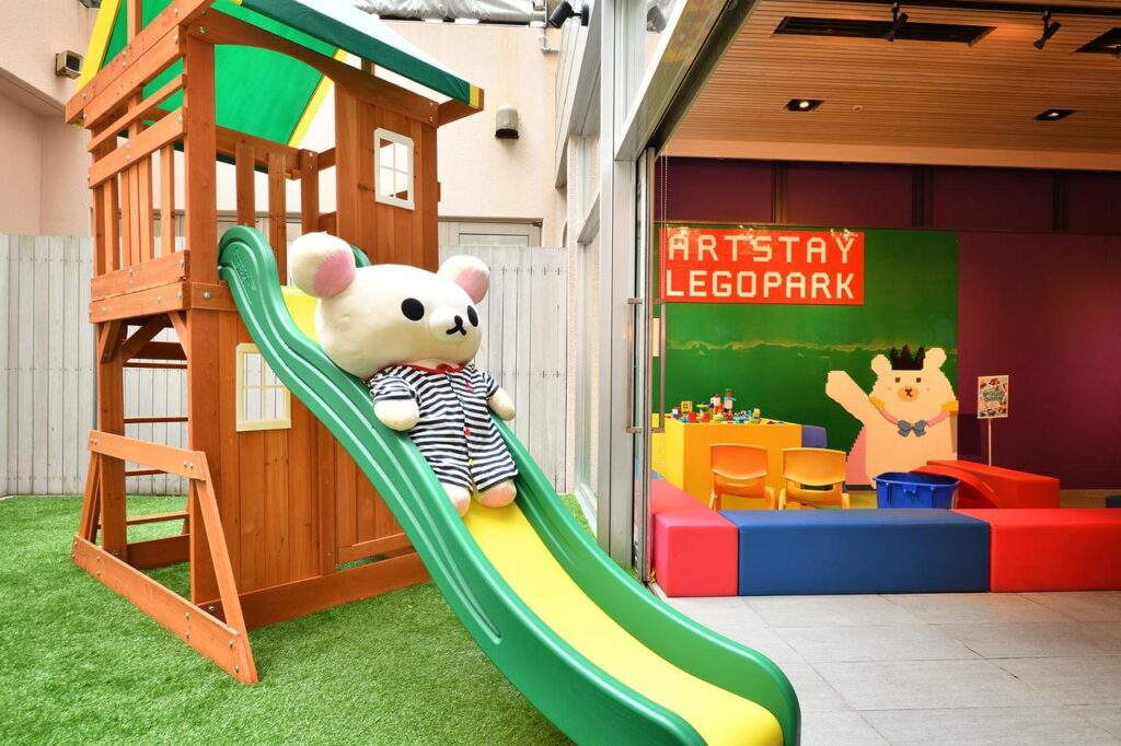 HOTEL WBF ART STAY那霸飯店 兒童遊戲區 沖繩自由行 住宿推薦