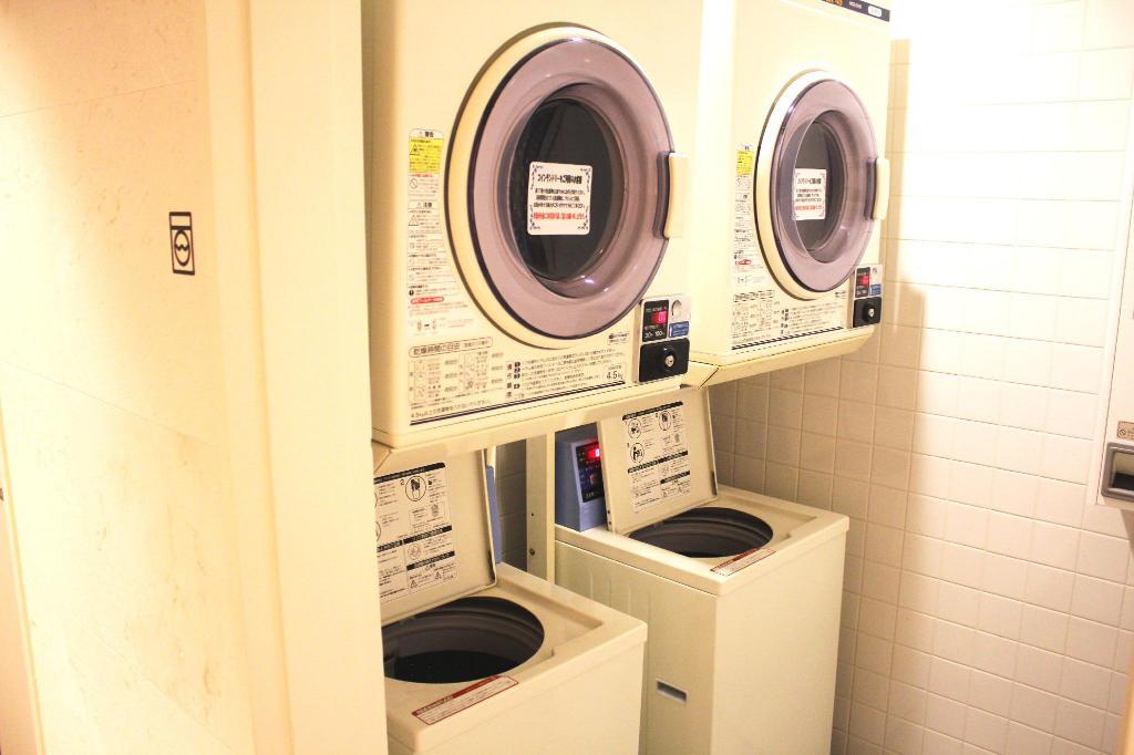 HOTEL WBF ART STAY那霸飯店 洗衣區 沖繩自由行 住宿推薦