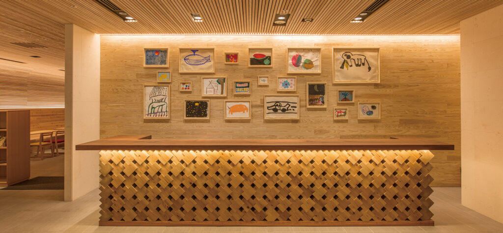 HOTEL WBF ART STAY那霸飯店 大廳接待櫃台  沖繩自由行