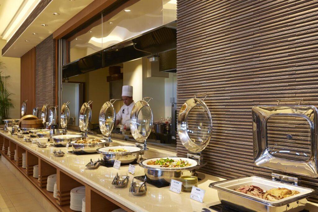 沖繩 自由行 住宿推薦  MAHAINA健康渡假飯店 自助早餐