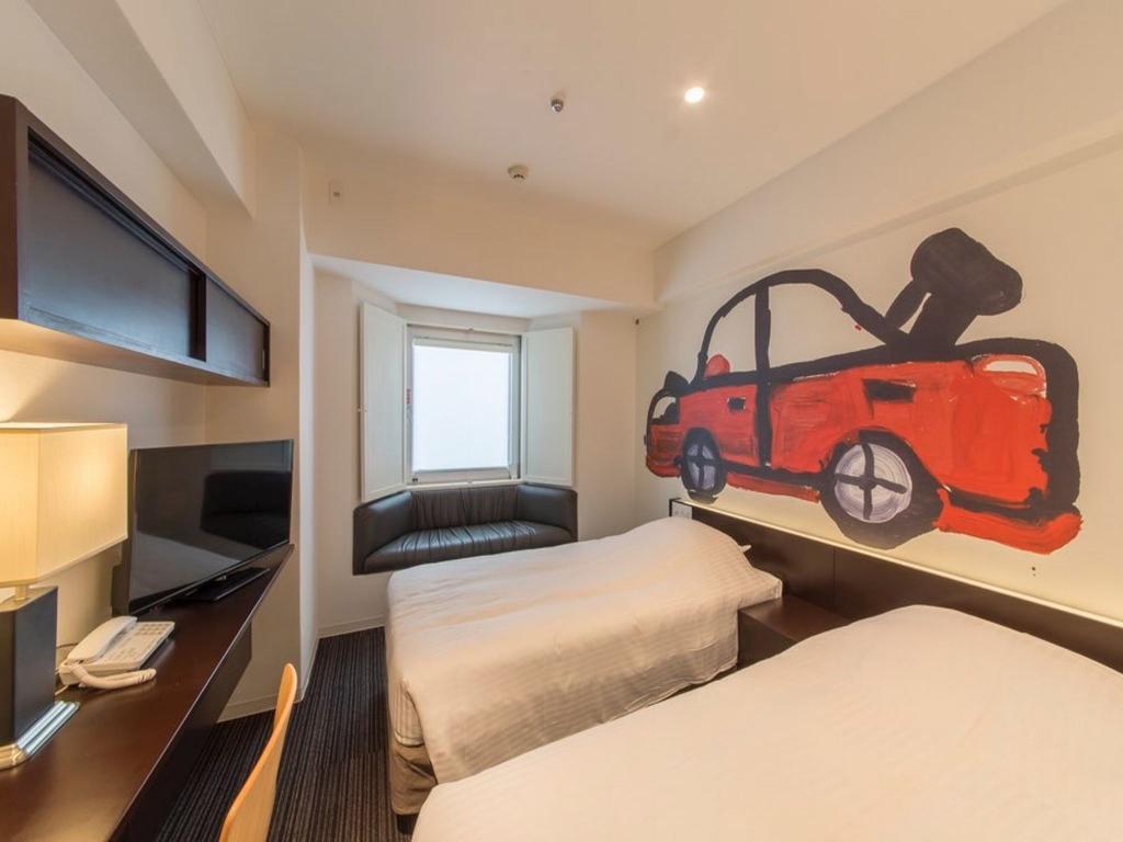 HOTEL WBF ART STAY那霸飯店 房間 沖繩自由行 住宿推薦