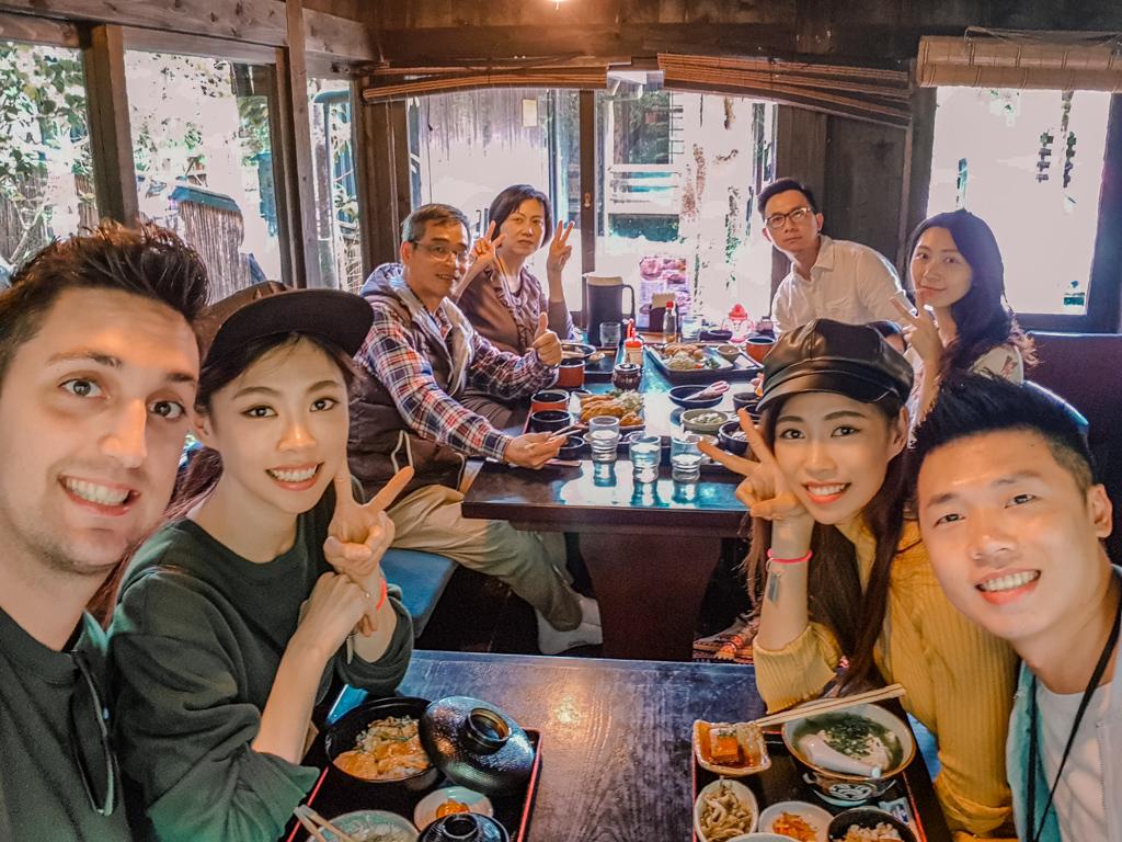 沖繩美食 百年古家 大家阿古豬 傳統琉球料理 百年古宅 人氣餐廳