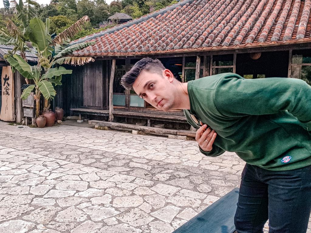 沖繩自由行 百年古家大家 廣場 沖繩美食 百年古家 大家阿古豬 傳統琉球料理 百年古宅 人氣餐廳
