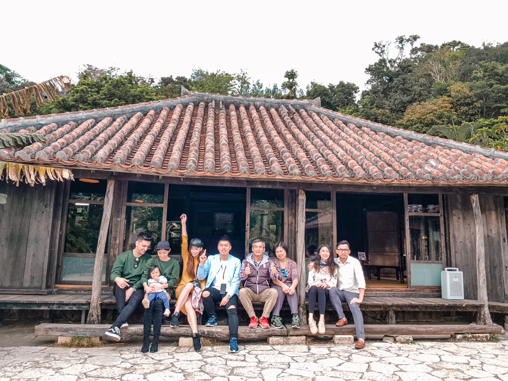 我們的全家福!沖繩美食 百年古家 大家阿古豬 傳統琉球料理 百年古宅 人氣餐廳