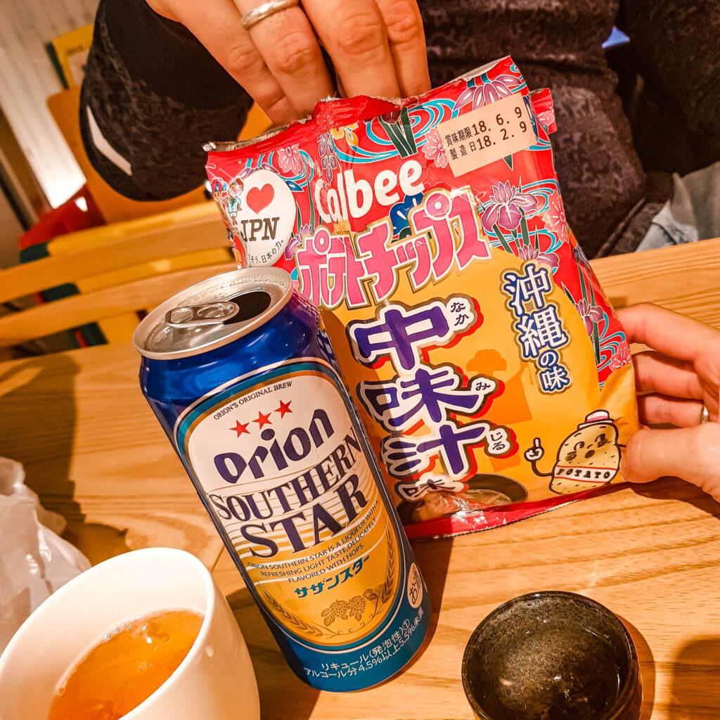HOTEL WBF ART STAY那霸飯店 沖繩自由行 住宿推薦  晚上吃東西