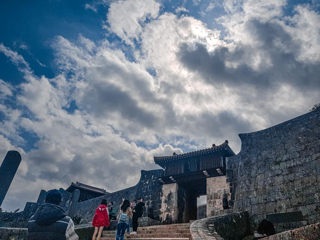 沖繩 世界文化遺產 首里城 瑞泉門