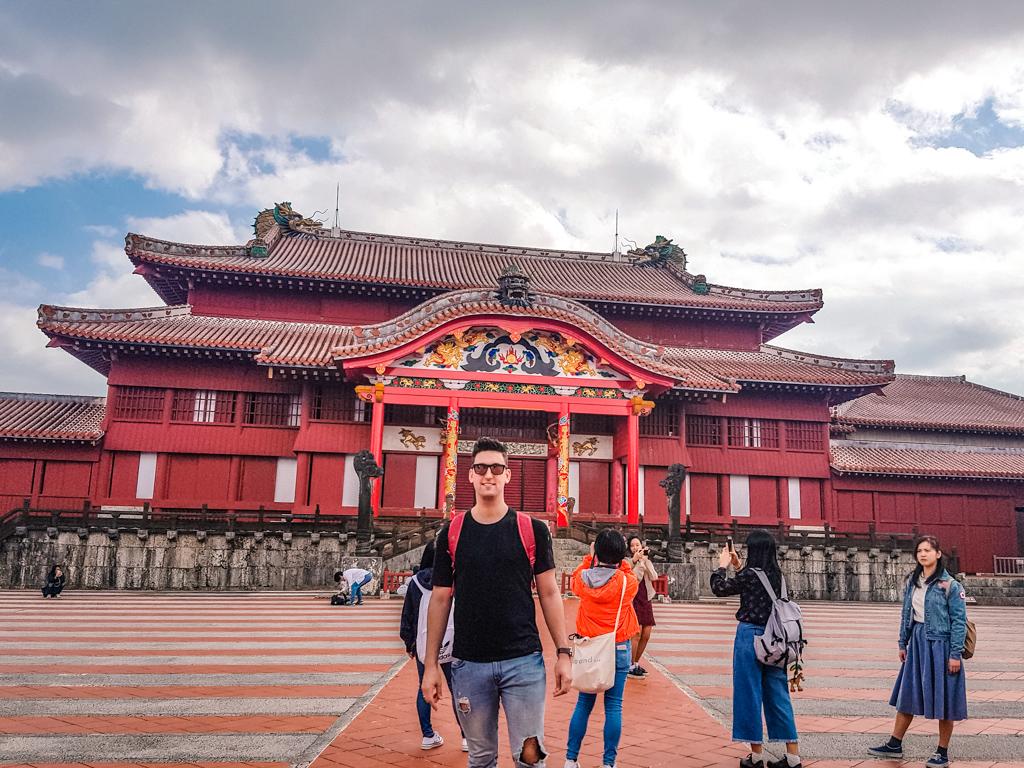 首里城 正殿  沖繩 世界文化遺產 首里城