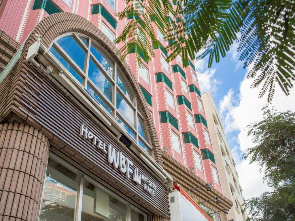 沖繩自由行 家庭旅遊 住宿推薦 HOTEL WBF ART STAY那霸飯店 沖繩住宿