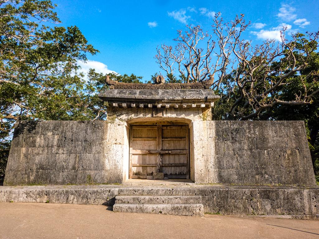 園比屋武御嶽石門 世界文化遺產 首里城 沖繩