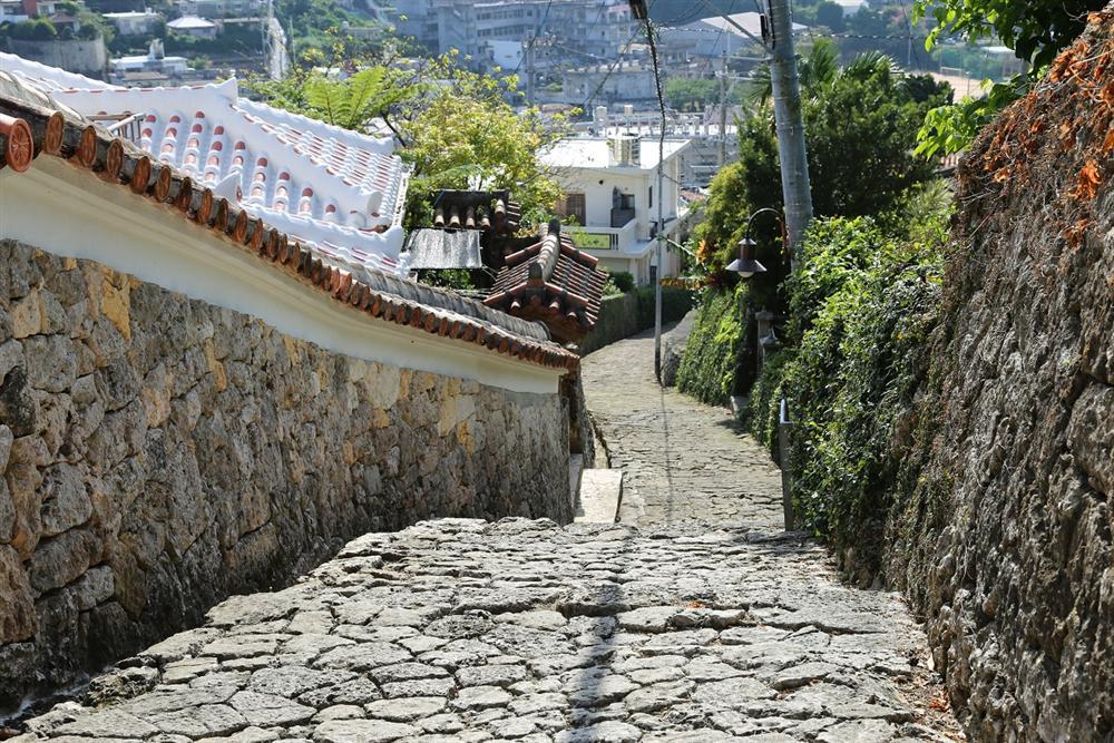 沖繩 金城町石疊道