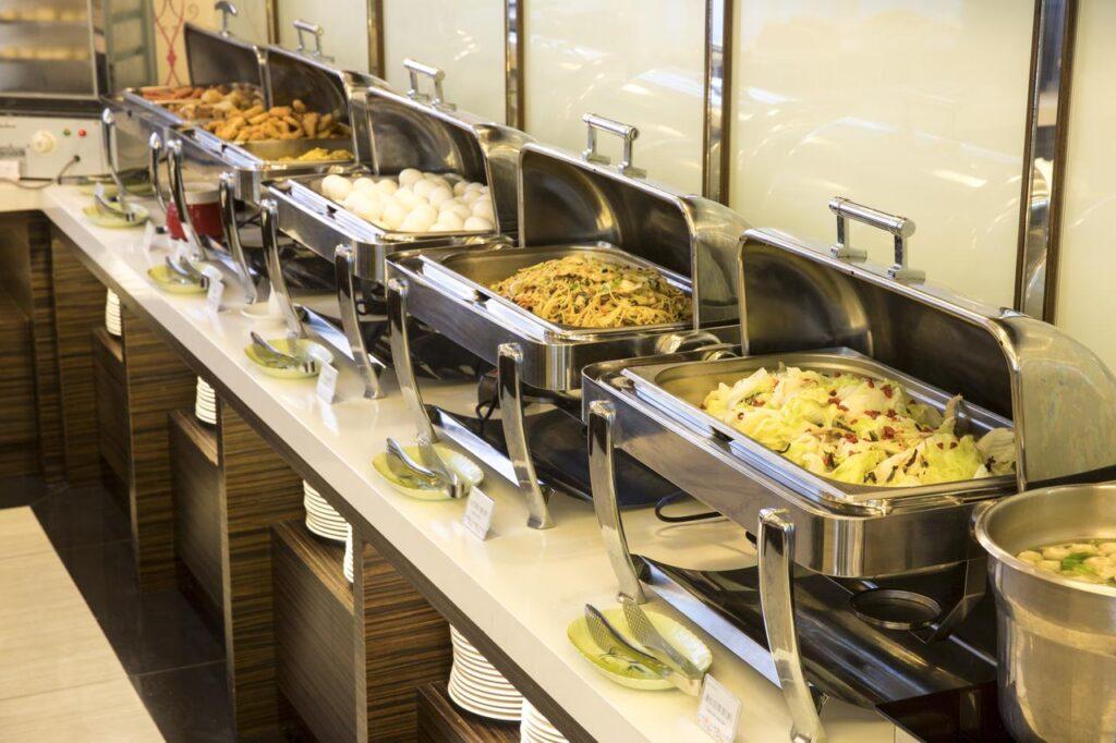 飯店自助早餐熱食選擇多 娜路彎花園酒店