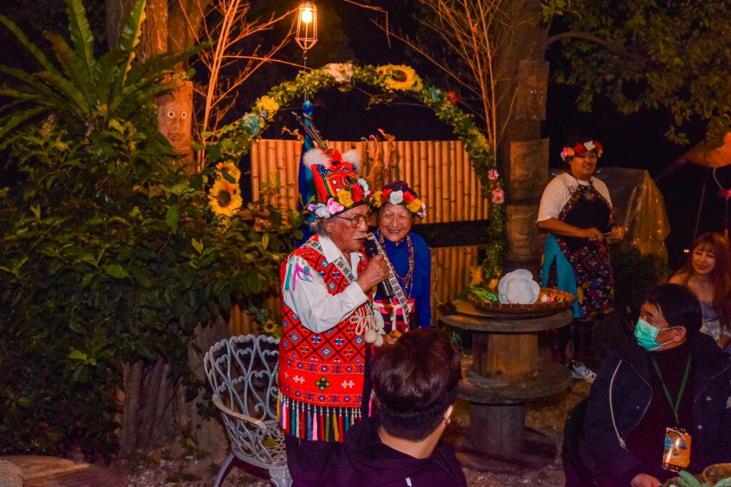 部落耆老的歡迎 台東旅遊 台東特色景點 普悠瑪文化部落