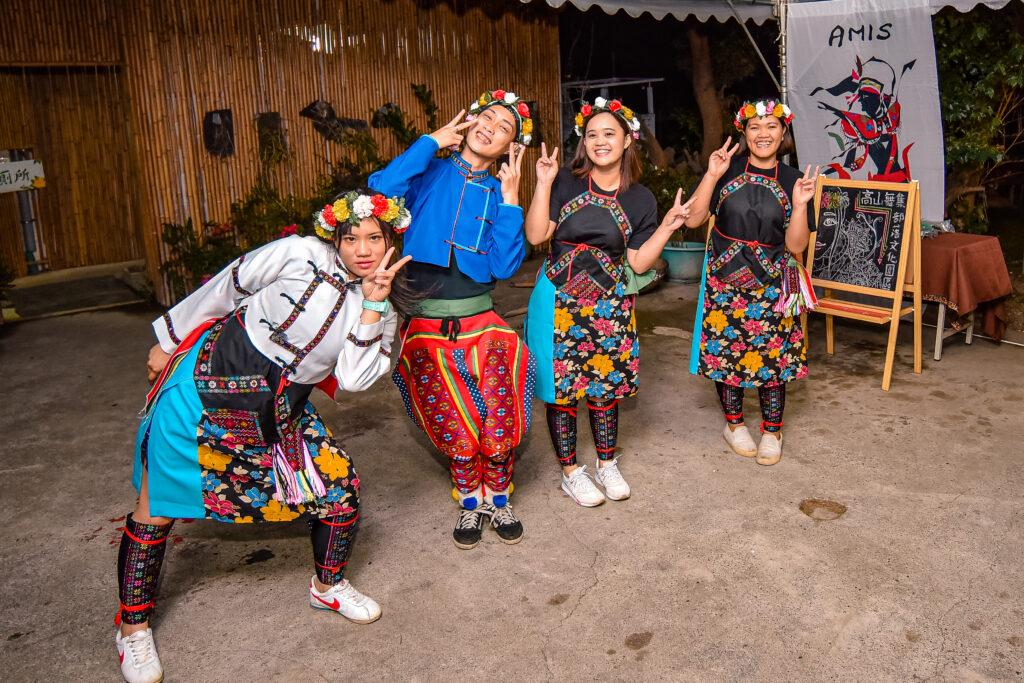 樂天可愛的原住民們 台東旅遊 台東特色景點 普悠瑪文化部落 高山舞集