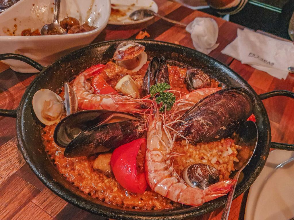 PAELLA/FIDEUA de MARISCO 西班牙海鮮大鍋飯$480