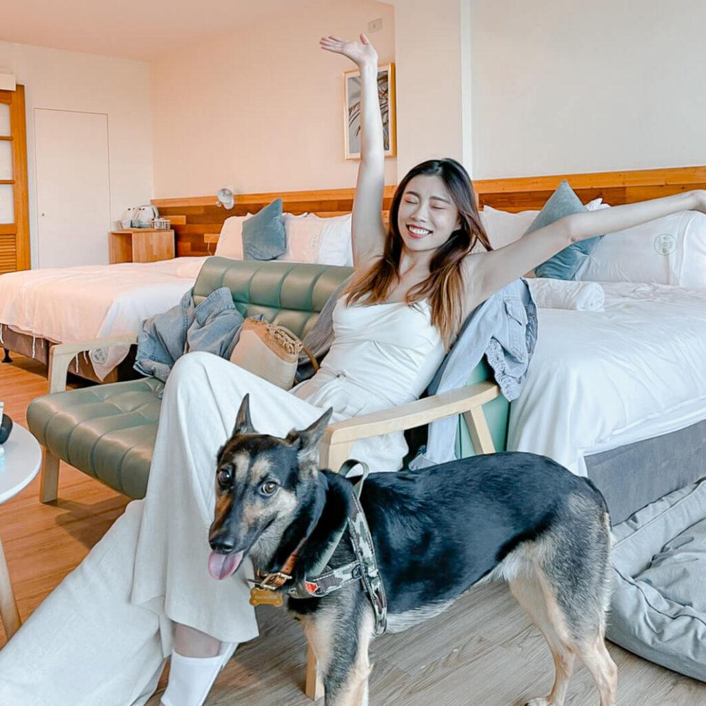 墾丁寵物友善住宿    草分木B&B 南灣沙灘走路就到又可以帶寵物的質感民宿